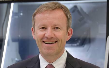 Harry Junger, Geschäftsführer der GILDEMEISTER Drehmaschinen GmbH